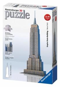 ジグソーパズル 【125531】 3Dパズル エンパイア・ステート・ビルディング 【パズル】 【カワダ】