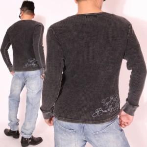 グラディエイト GLADIATE 刺繍 サーマル ロンT(481855)【送料無料】長袖Tシャツ ロングTシャツ
