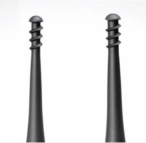 【メール便・送料無料】  螺旋(らせん)式ゴムの耳かき G-2160
