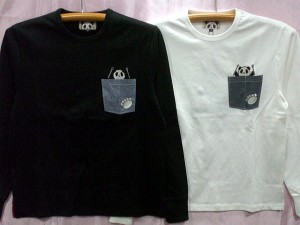 【大きいサイズ】PANDIESTA JAPAN 長袖Tシャツ 熊猫オンザLITTLE BIKE パンディエスタ