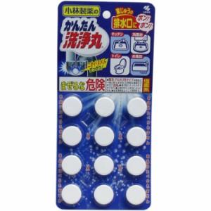 小林製薬のかんたん洗浄丸 12錠入