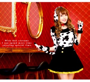 CPA*【Malymoon】ダルメシアン コスチューム (コスプレ ハロウィン 衣装 Rudegirl 犬 わんこ 101匹わんちゃん)