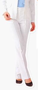 A5055-5 パンツ(脇ゴム・後ろポケット付) 全1色 (福本服装 ERGON エルゴン 事務服 制服)