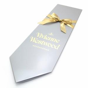 Vivienne Westwood/ヴィヴィアンウエストウッド ジャガードネクタイ  BQ01705:ベージュ系F694-0001