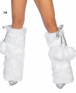 クリスマス衣装 レッグカバー サンタクロース コスプレ クリスマス  コスチューム 美脚 パーティー サンタコスプレ レディース X'mas