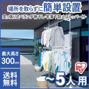ベランダ物干し 物干し ステンレス 洗濯物干し 洗濯 布団 布団干し 屋外物干し 簡単取付 SVI-300NR アイリスオーヤマ 送料無料