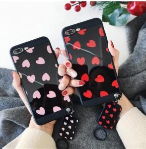 iphone6s Plus/iPhone6 Plus/iPhone7 Plus/iPhone7/iPhone8 Plus/iPhone8/iPhoneXケース鏡面愛柄ケース【hi281】