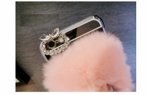 iphone6s Plus/iPhone6 Plus/iPhone7 Plus/iPhone7/iPhone8 Plus/iPhone8ケースダイヤモンドミラーリングストラップケース【mm291】