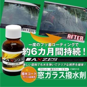 洗車 コーティング 窓ガラス撥水剤 20ml (CW010) 撥水コート ガラス面専用 フッ素コーティング
