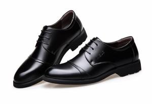 ビジネスシューズ 床革 メンズ 革靴 紳士靴 靴 ビジネス  ウォーキングシューズ  皮靴   ギフト プレゼント 結婚式 冠婚葬祭    YA713