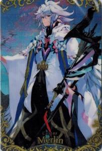 Fate/Grand Order ウエハース2 22 キャスター/マーリン  (SR)