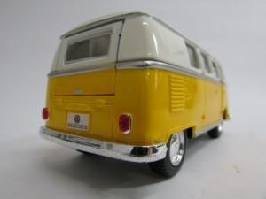 ダイキャストミニカー 1/32 1962 Volkswagen Classical Bus フォルクスワーゲン クラシカルバス イエロー