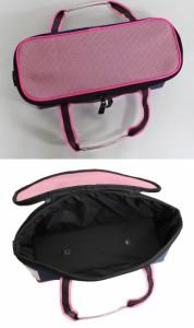 画材バッグ ポケットピンク 小学生女の子向け水彩ケース