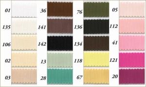ポリエステル ペタシャム グログラン リボン 15mm メーター売 全100色 SHINDO 服飾 アクセサリー ラッピング ハンドメイド SIC-190-15