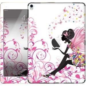 iPad Pro 9.7インチ(第1世代)専用 スキンシール  decotto 表面・裏面セット 【 蝶と妖精 柄 】※液晶保護フィルム・壁紙付き!※ [傷や