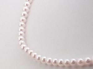 【送料無料】アコヤ真珠(あこや真珠)ベビーパールネックレス レディース ジュエリー ギフト 卒入学 ホワイトデー 母の日 卒業式 入学式
