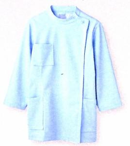 52-111 ケーシー レディス・8分袖  全1色 (看護師 ドクター ナース 介護 メディカル白衣 モンブラン MONTBLANC)