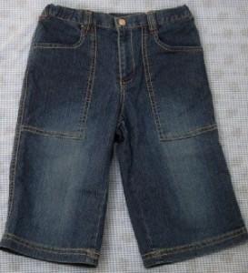 エニィファム anyFAM デニム  ハーフパンツ 130cm 女の子 キッズ  子供服 130A4343