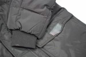 新作 BCNU メンズ ダウンコートジャケット スリム 無地 毛襟 ファー付き