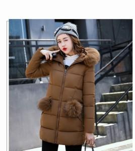 上品さ秋冬ロングコート レディースアウター 軽いダウンコート 大きいサイズ ロングジャケット フェイクファー 通勤 愛用 厚手 OL