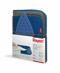 Rayen/アイロンプロテクターダブルフォーム&シリコンベース ネイビー