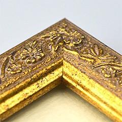 ミユキ ビーズデコール専用額R50133 デコラティブ 樹脂製額縁(アンティックゴールド) MIYUKI