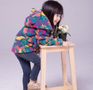 子供用 ジャケット コート 裏起毛ダウンコート冬物女の子 秋冬物 ジュニア 子ども キッズアウター 防寒コート パーカ