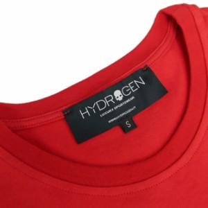 【47%OFF!】HYDROGEN ハイドロゲン メンズクルーネックTシャツ 225611 レッド /2018春夏新作