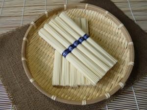手延べ 三輪の冷麦 「みわのひやむぎ」 お徳用 紙箱入り 3kg(60束) 家庭用 製造元直売 H-3K