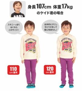 NEW ウルトラストレッチパンツ/20色 ロング スキニー レギパン ベビーサイズ キッズ 子供服 ベビードール-4310BK