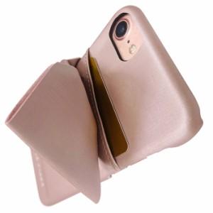 iPhone8 ケース iPhone7 iPhone6s iPhone6 兼用 アイフォン カバー ブランド LAISSE PASSE レッセ・パッセ 背面ケース ドレープリボン