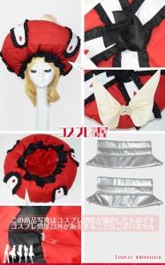 Fate/Grand Order(フェイトグランドオーダー・FGO・Fate go)★マリー・アントワネット 第一段階☆コスプレ衣装 [2246]