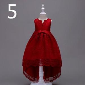02b57a1c49bc9 110-170cm子供ドレス フォーマル ドレス 演出 お姫様 お嫁さん フラワーガール ドレス ジュニア ワンピース 大きいサイズ