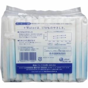 エリエール +Water(プラスウォーター)ポケットティシュー 28枚(14組)×14個パック