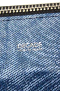 ディケイド 【DECADE】  デニムトートバッグ dcd-00999