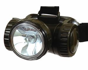 2WAY ヘッドライト 豊光 AG-730 3球LEDとクリプトン球の切り替えができるヘッドライト 防犯グッズ