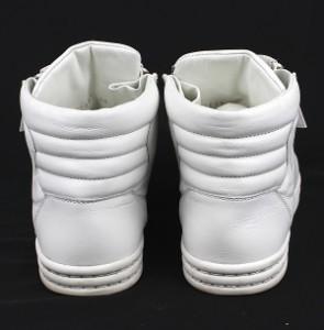 シャネル CHANEL ハイカット スニーカー 靴 白 ココマーク size38