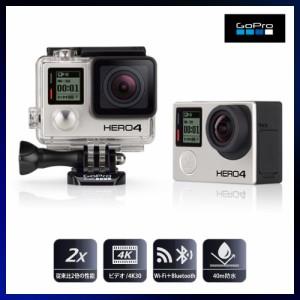 【送料無料】 GoPro ウェアラブルカメラ HERO4 ブラックエディション アドベンチャー CHDHX-401-JP