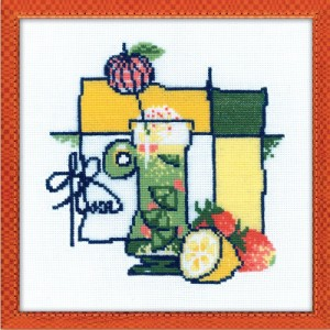 RIOLISクロスステッチ刺繍キット No.976 「Cocktail」 (カクテル)