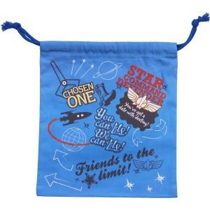 【DM便発送可】D1471/アートウェルド/【Disney/トイストーリー】巾着(小)/綿/コットン/お祝い/収納/入園/入学/雑貨/袋物