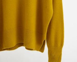 2017 AW 新作 Vネック セーター ニット 編み込み 長袖 ブラック イエロー ベージュ ブラウン グレー レンガ プチプラ 激安