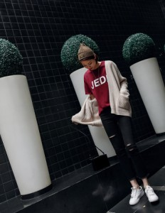 ニットカーディガン 羽織り ざっくり 長袖 オーバーサイズ セーター ニット プチプラセール 秋冬 トレンド