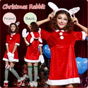 クリスマスツリーコスプレ赤レッドハロウィンコスチュームコスプレサンタクロース コスプレ衣装仮装  サンタ