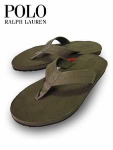 メンズ レザーサンダル オリーブ Polo Ralph Lauren ポロ ラルフローレン リミテッドエディションヴィンテージレザーサンダル