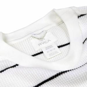 【セール 25%OFF!】RVCA ルーカ メンズロングTシャツ NEUTRAL THERMAL L/S / AH042-065 ホワイト