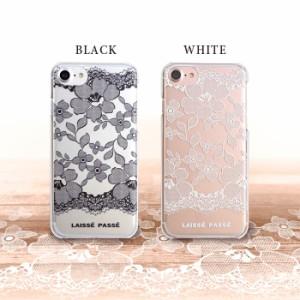 iPhone8/7/6s/6兼用 【LAISSE PASSE(レッセ・パッセ)】 クリアハードケース 「レース」