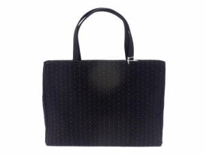 サブバックとしても重宝します。留袖 訪問着 小紋 礼装用 サブバック日本製 印伝調 和装 バック 黒地 松皮菱柄 no3001