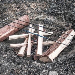 焚き火用 ゴトク Sサイズ たき火ゴトク S 焚火ゴトク 焚き火台 調理台 アウトドア サバイバル ブッシュクラフト キャンプ 登山 釣り
