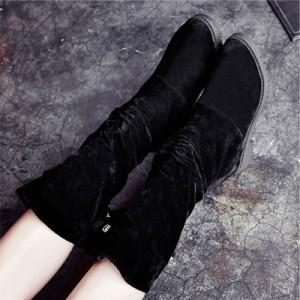 ミドル ブーツ レディース ブーティ ロング レースアップ ショート丈 ブーツ シューズ ブーティー 靴 かわいい おしゃれ 秋 冬