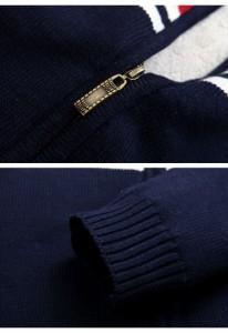 カーディガン メンズ 長袖 ニットセーター 裏起毛 厚手防寒 あったか 防寒着 保温 暖かい 冬物 大きいサイズ